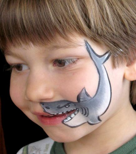 As long as we are thinking facepainting, we may as well ...