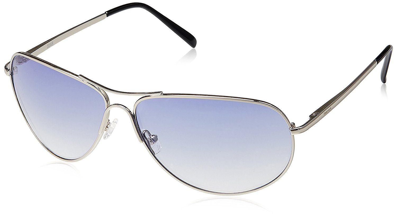 Fastrack Aviator Men's Sunglasses (Blue)...for details