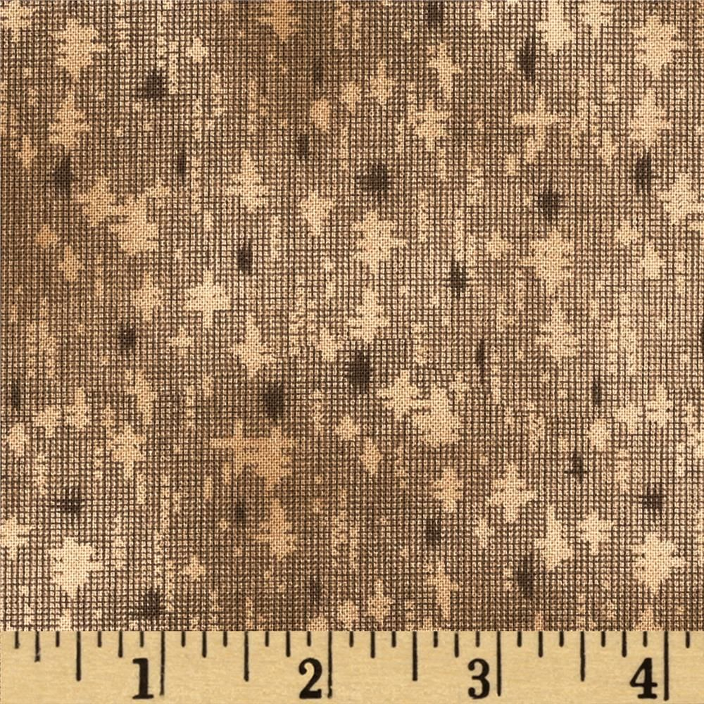 Jeanne Horton The Settlement Collection Cross Texture Brown  from @fabricdotcom  Designed by Jeanne Horton for Windham Fabrics, this 18th century reproduction fabric is perfect for quilting, apparel and home decor accents. Colors include brown and tan.