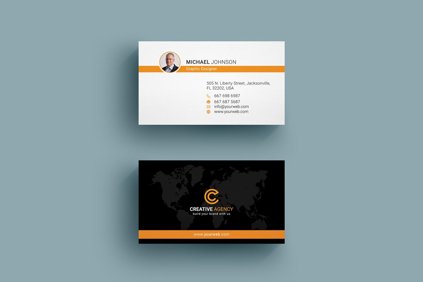 Corporate business card design 01 on behance desgin pinterest corporate business card design 01 on behance reheart Choice Image