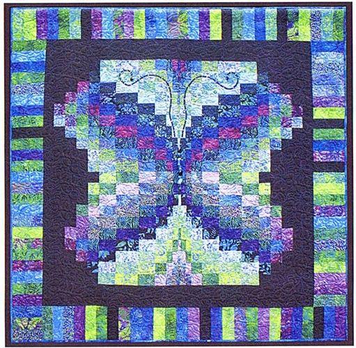 Butterfly Quilt Pattern, Bargello Quilt