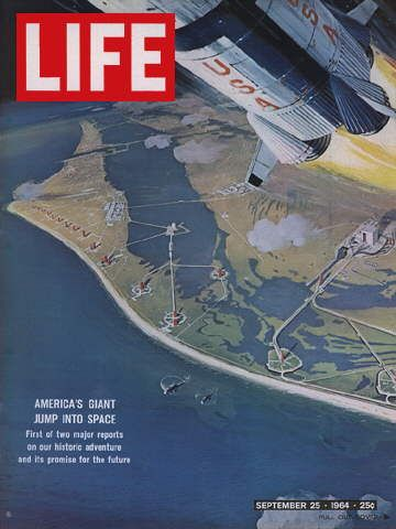 1964 September 25 LIFE Magazine - AMERICAN SPACE RACE
