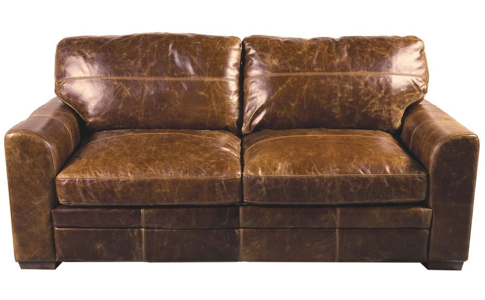 2 & 3 Seater Turin Vintage Aniline Leather Sofas - Furniture ...
