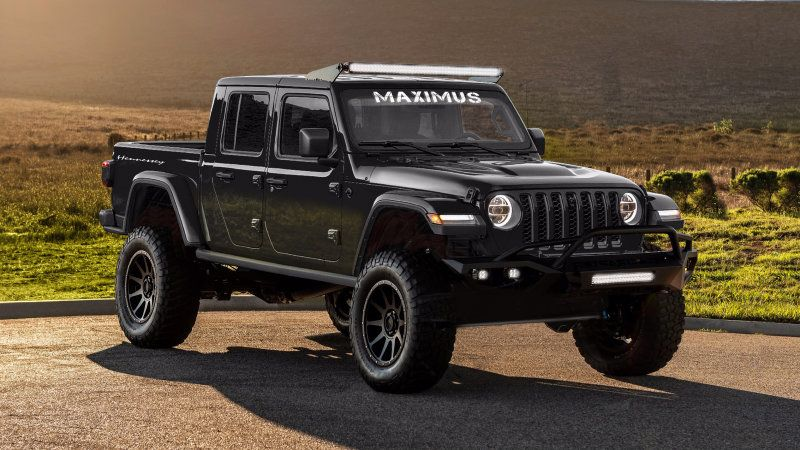 Hennessey Maximus Is A 2020 Jeep Gladiator With 1 000 Horsepower Jeep Gladiator Hennessey Jeep