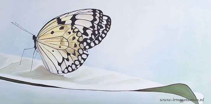 Kunstwerk vlinder.