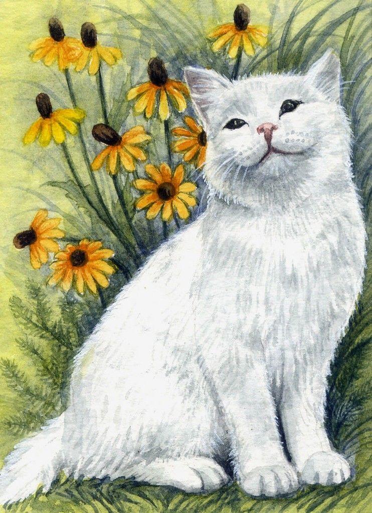 ивакова рисунки кошек и кошек для рабочего стола
