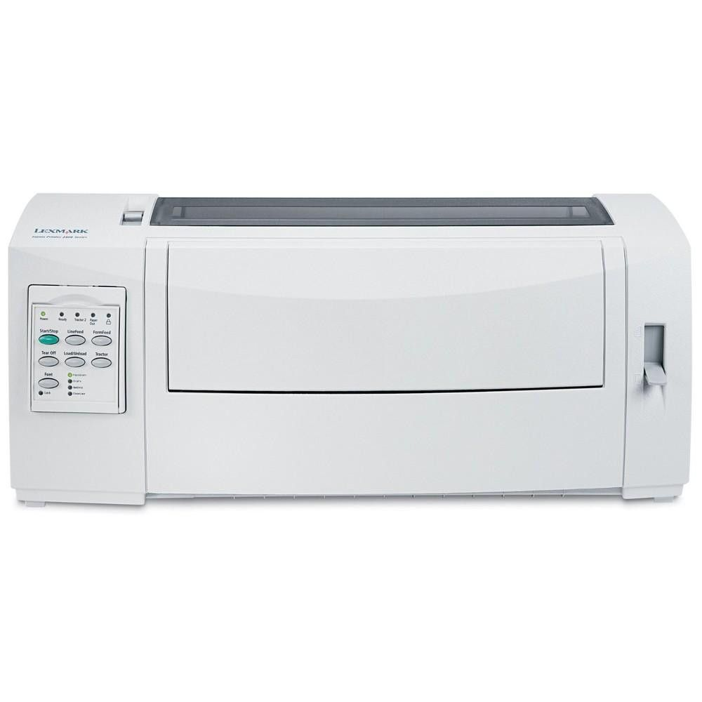 Lexmark 2580N+ Dot Matrix Forms Printer Monochrome 240x144dpi USB Parallel Ethernet 11C0109