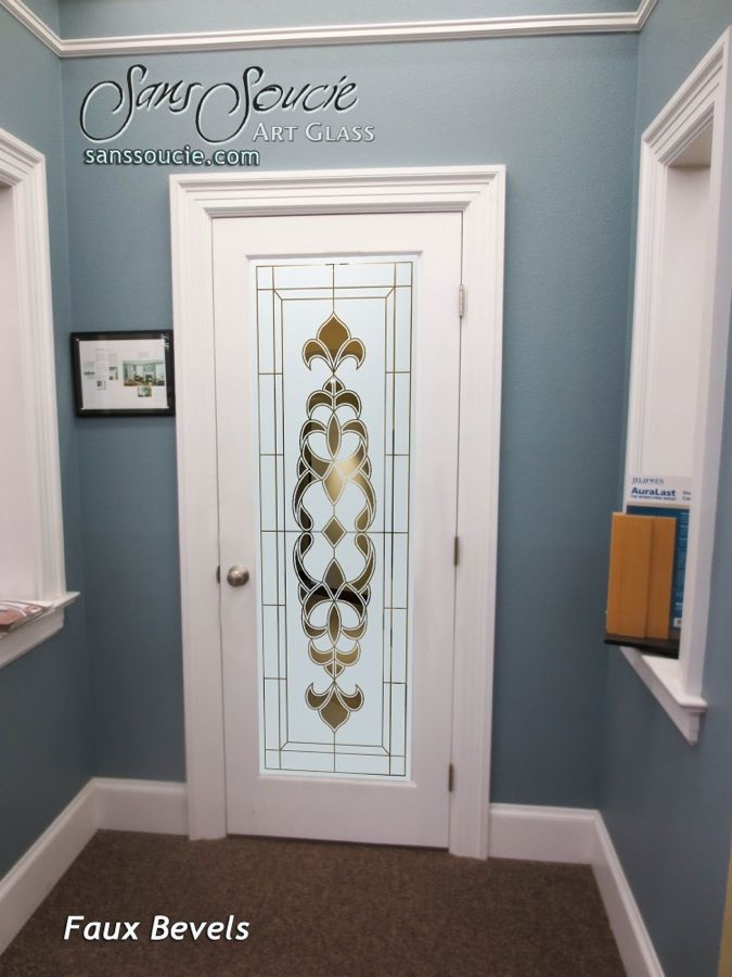 Glass Entry Doors Etched Tuscan Style Faux Bevels I Negative Sans Soucie