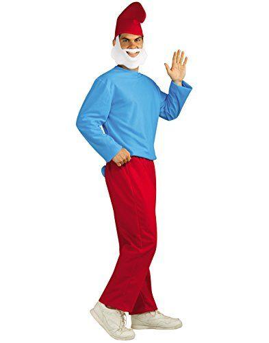 Rubies Smurfs The Lost Village Mens Papa Smurf Costume - Standard ... 9dd7186c6f