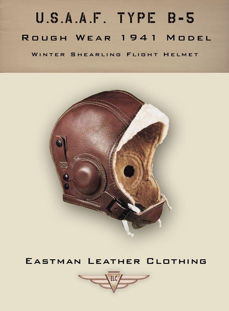 USAAF B-5 Flying Helmet, Rough Wear Clo. Co.