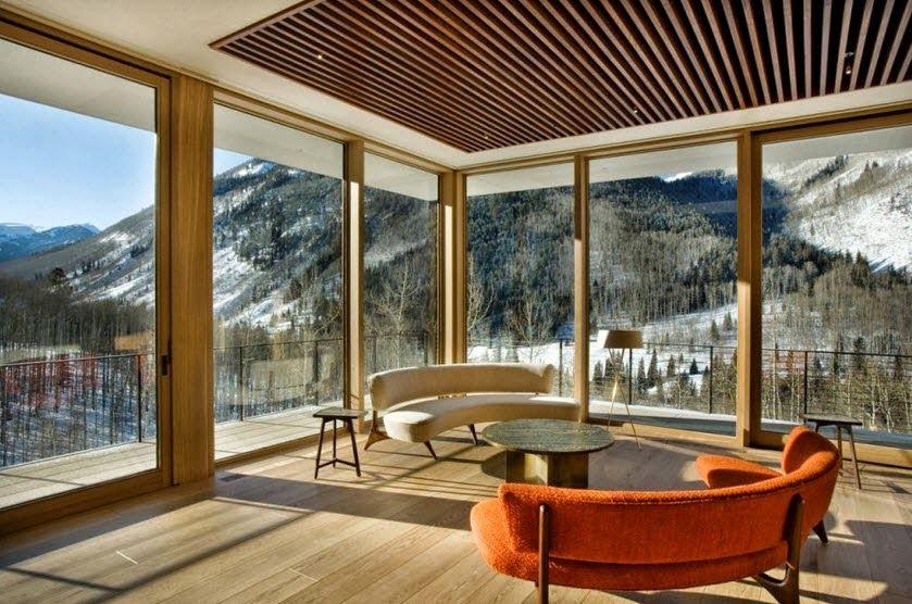 Planos Y Diseño De Casa Moderna Especial Para Climas Fríos
