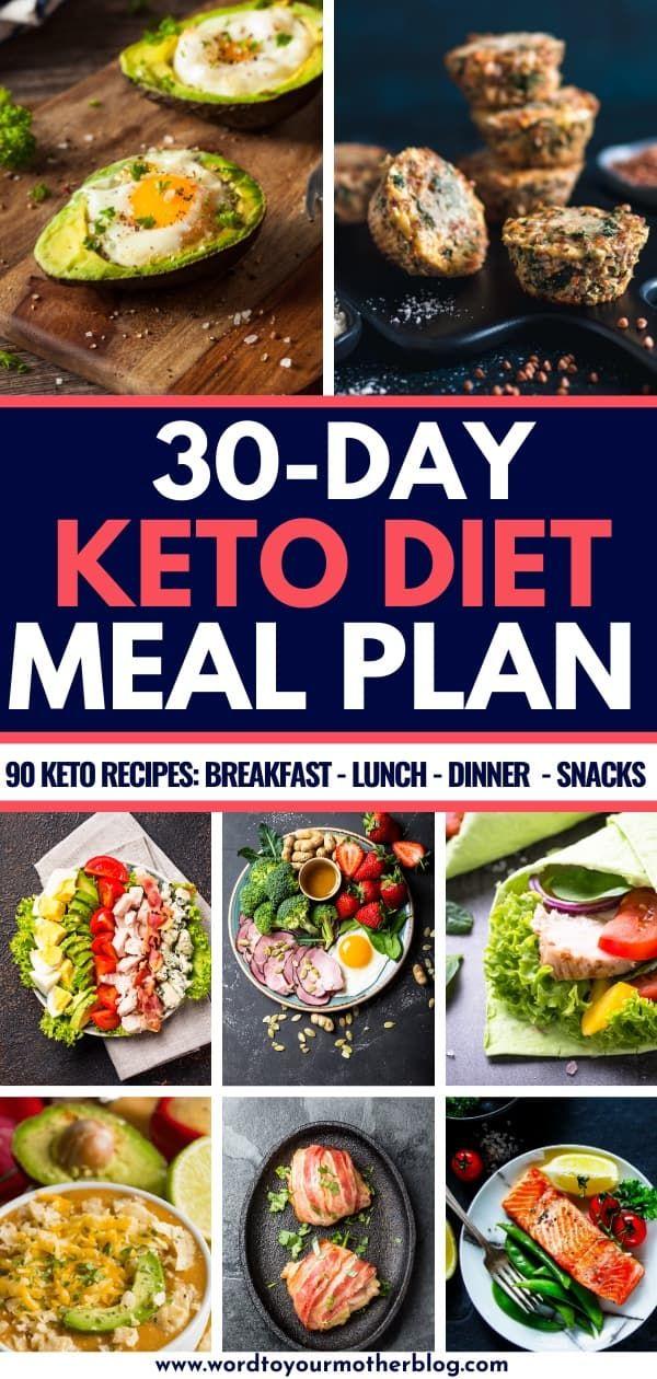 Photo of 90 einfache Keto-Diät-Rezepte für Anfänger: Kostenloser 30-Tage-Speiseplan
