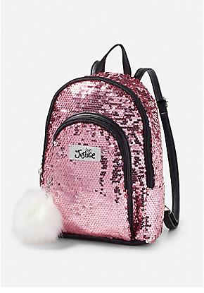 Iridescent Sequin Mini Backpack   Shimmer   Mochila cartera, Mini ... f6e6c7884f