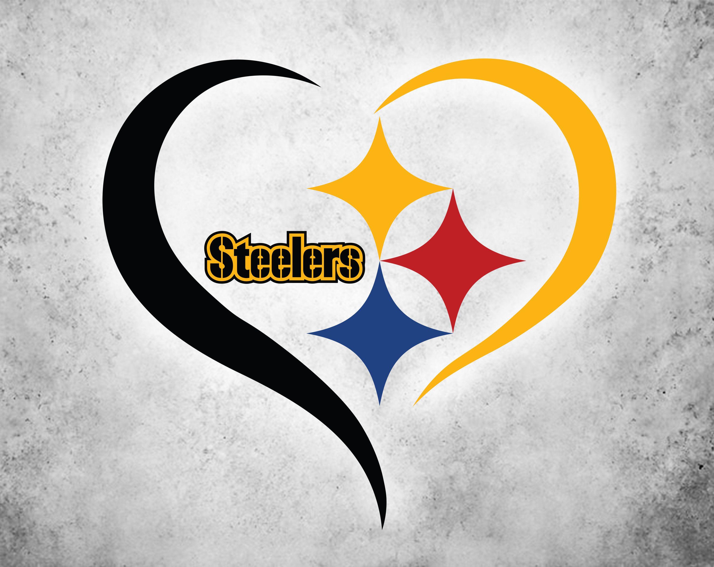 Love Pittsburgh Steelers Svg, Steelers Svg, NFL svg