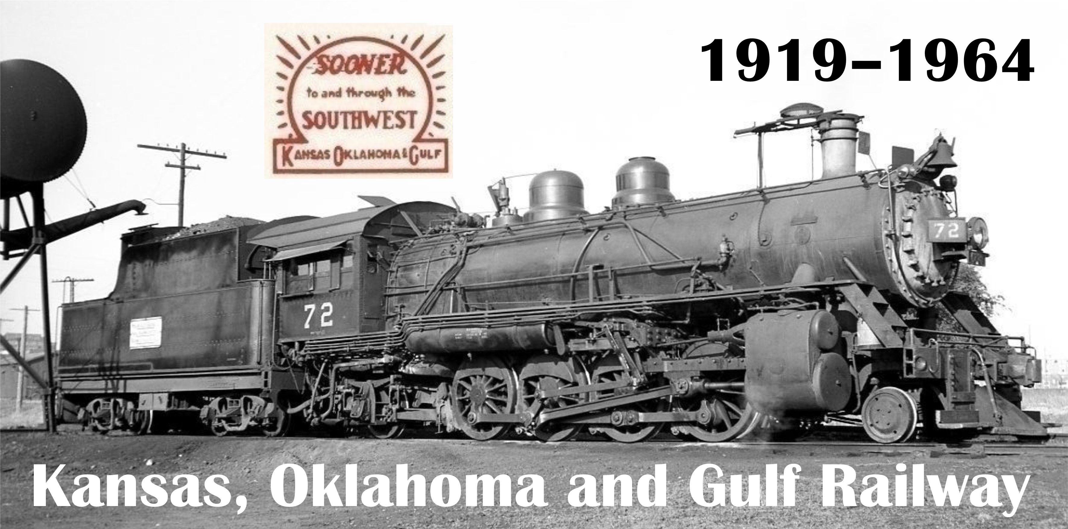 1919, Kansas, Oklahoma And Gulf Railway, Muskogee