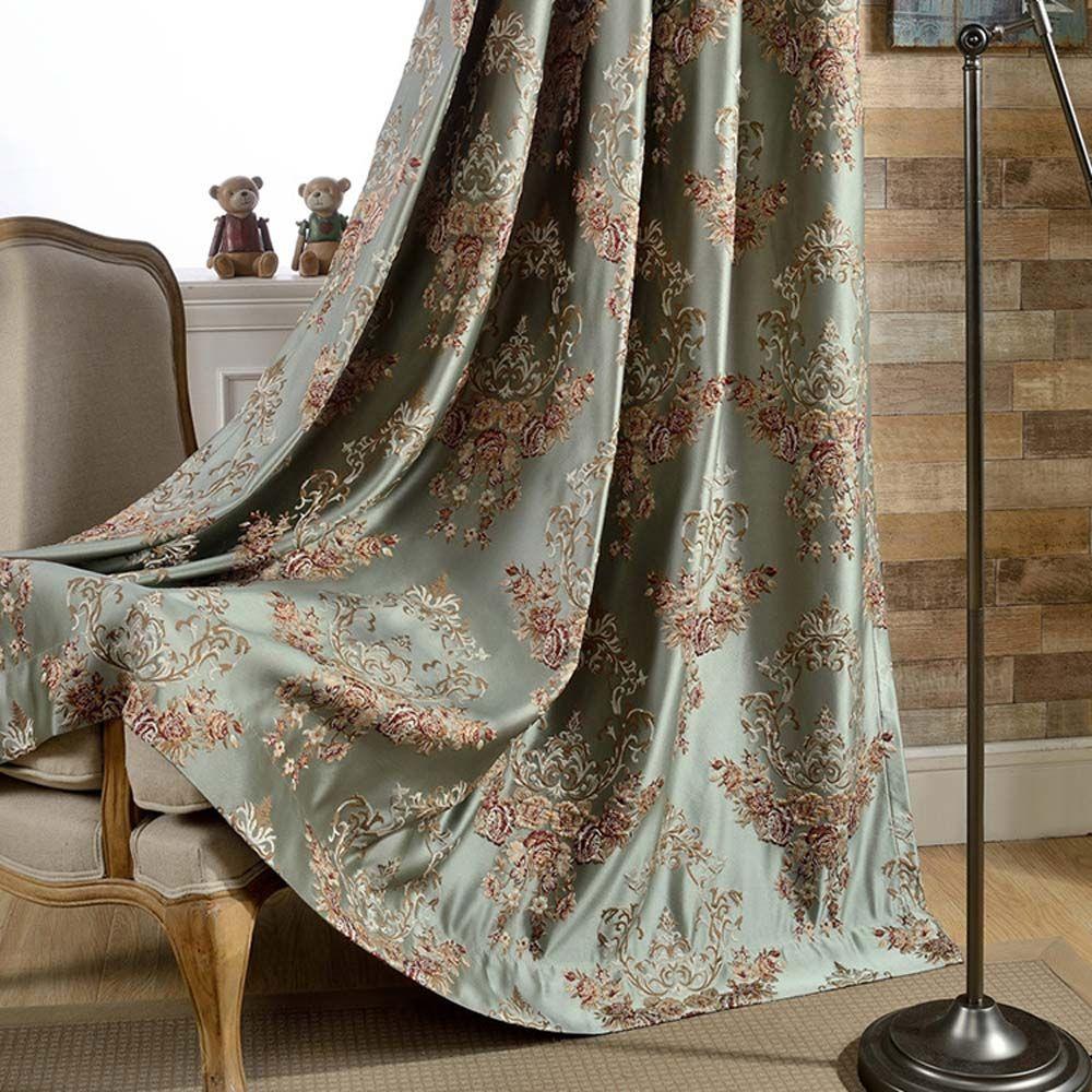 Europaische Vorhang Blumen Design Fur Schlafzimmer Blickdicht Vorhange Schlafzimmer Vorhange Schlafzimmer Design