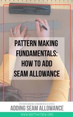 Pattern making Fundamentals | Pattern Drafting