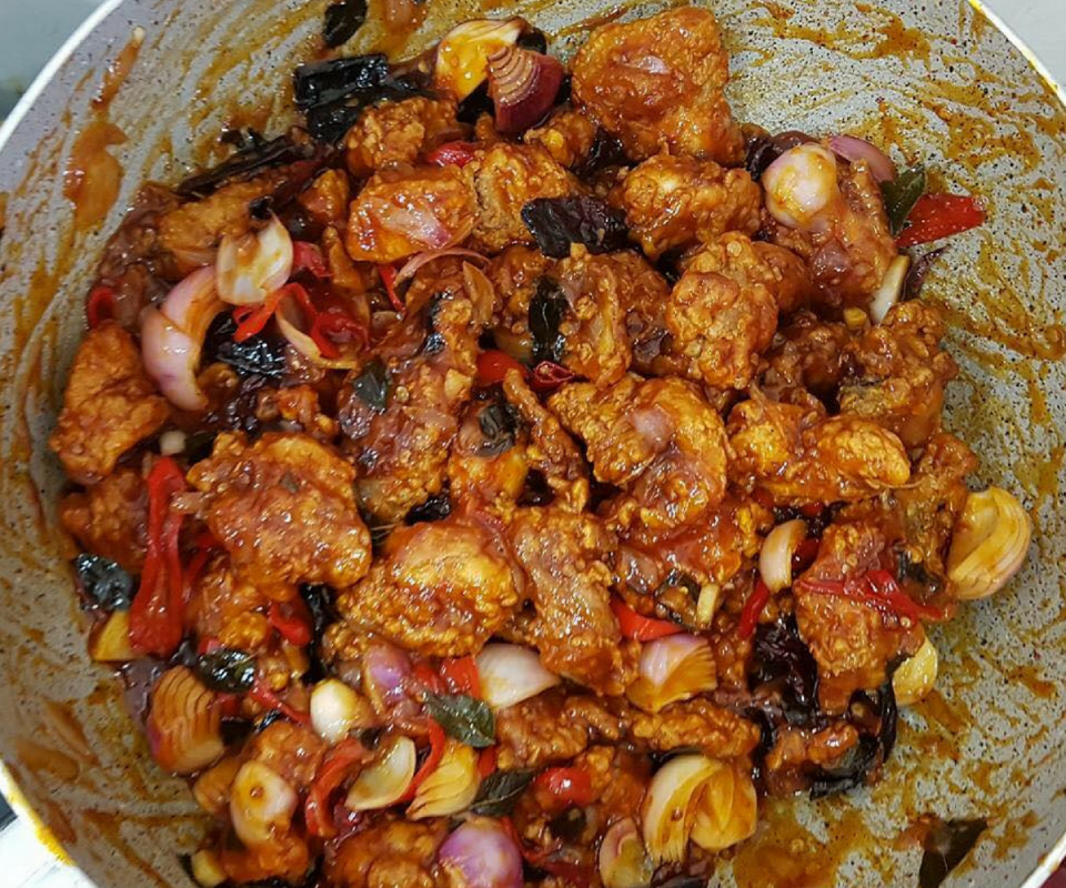 Resepi Ayam Masak Cili Kering Stail Cina Muslim Sedap Rasa Recipes Food Muslim