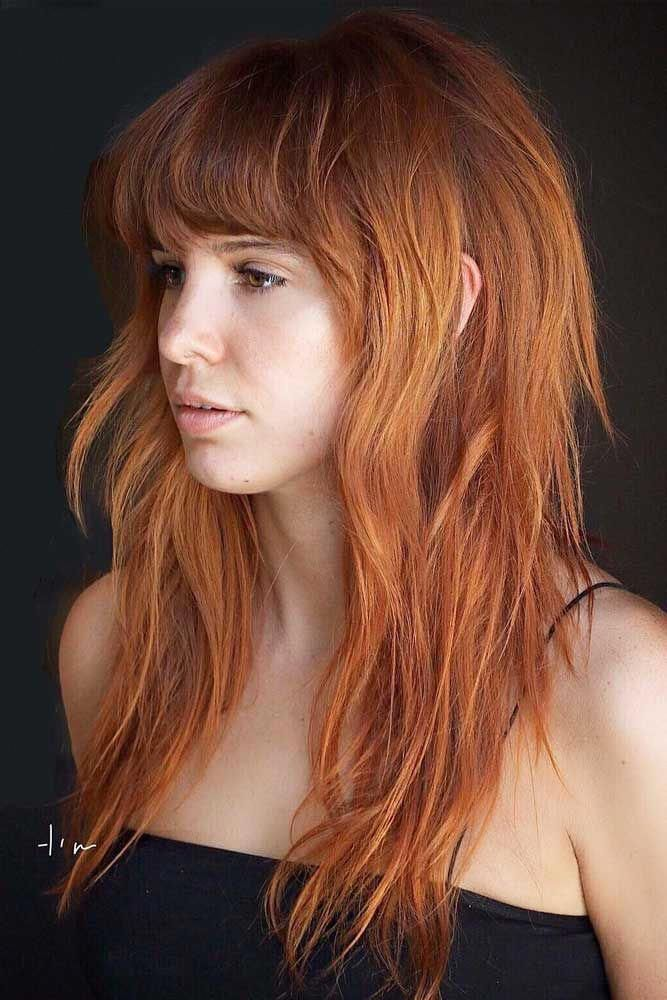 I Always Wannna Go Ginger But Hmmmm Longhair Long Hair With Bangs Long Hair Styles Hairstyles With Bangs