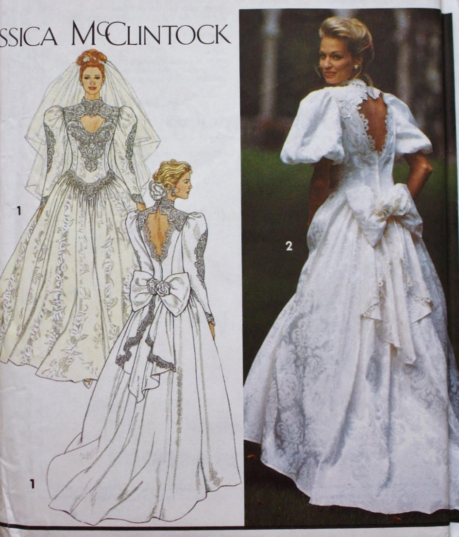 Wedding dress sewing patterns vosoi simplicity ombrellifo Gallery