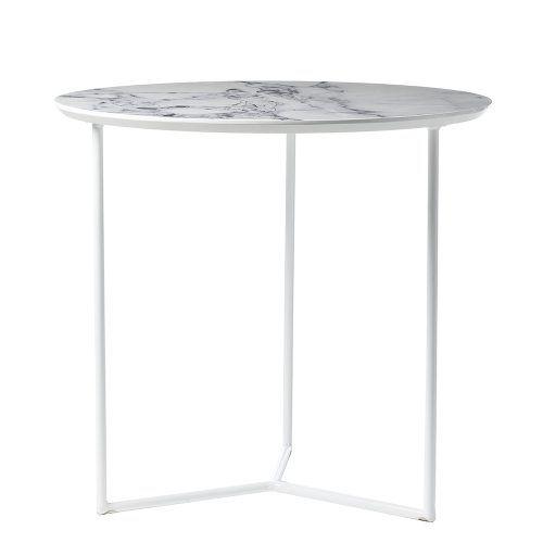 Rebecca Judd Loves Home Republic Glacier Side Table Bedside Table - Colorful judd side table with different variations