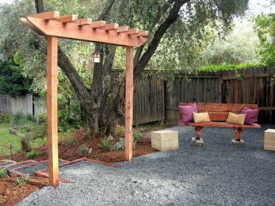 redwood arbor diy backyard arbor gardening ideas pinterest arbors backyard and arbor ideas. Black Bedroom Furniture Sets. Home Design Ideas