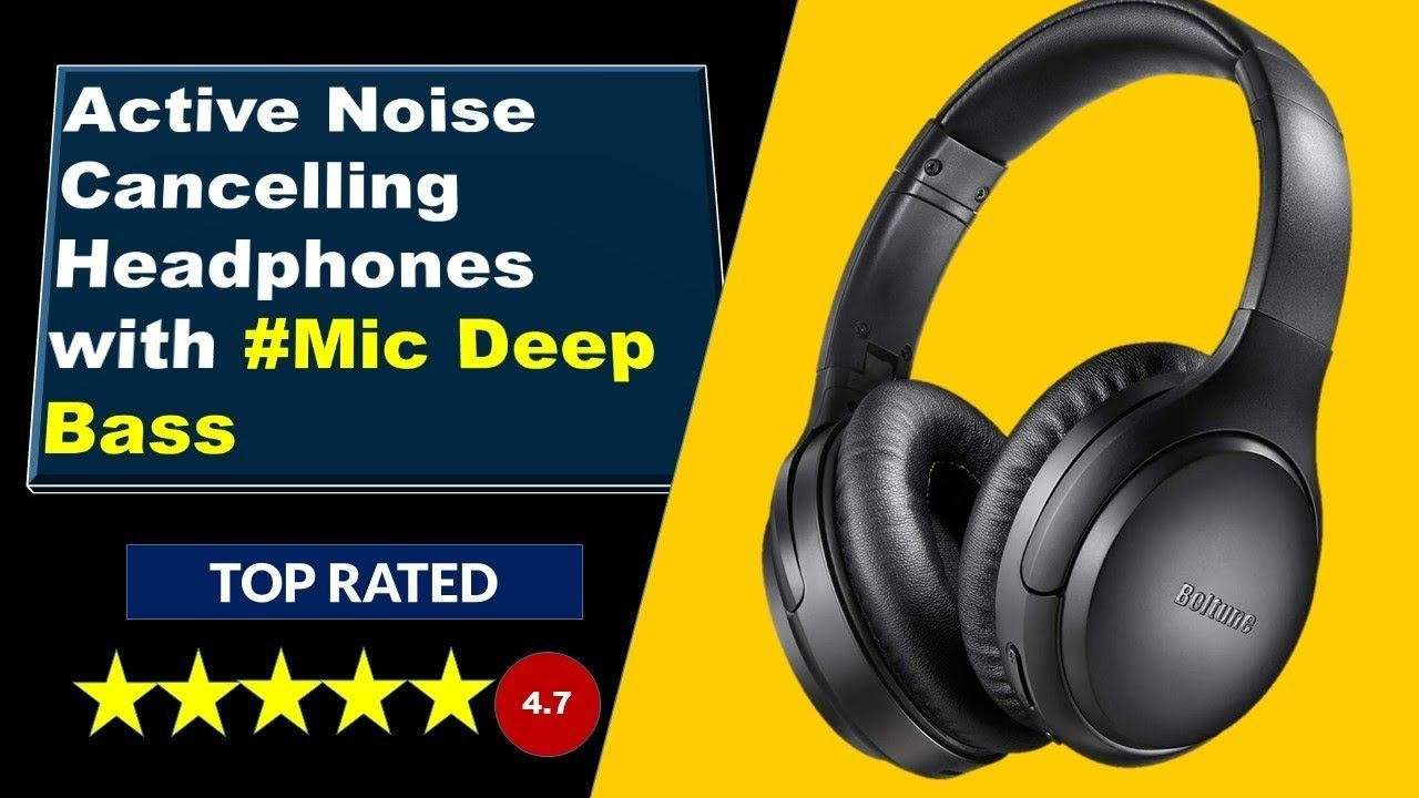 Best Noise Cancelling Headphones I Bluetooth 5 0 Headphones Amazon Earphones Earbuds Bluetooth Headphones Wireless Headsets Gaming Best Noise Cancelling Headphones Noise Cancelling Headphones Noise Cancelling
