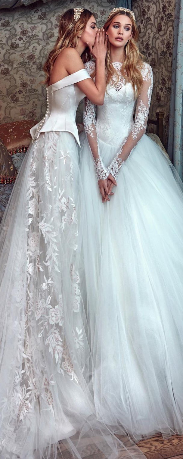 Dress like a Disney Princess Bride - Galia Lahav 2017 wedding ...