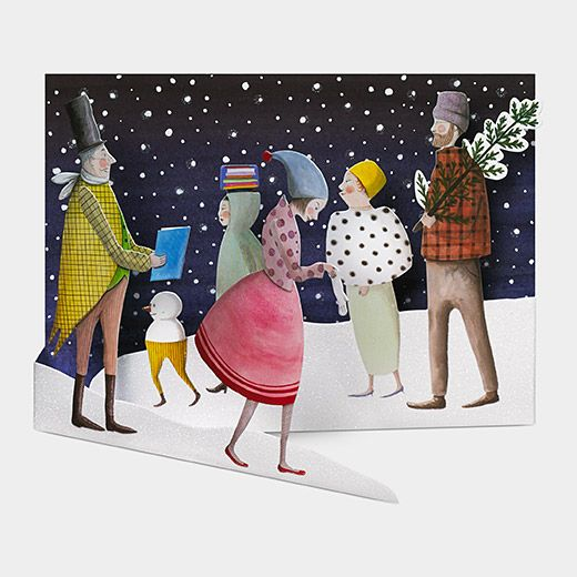 Urban Holiday | MoMA Store | Christmas ephemera. Holiday cards. Boxed holiday cards