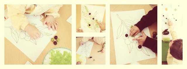 Aliñamos aceitunas en el primer ciclo de educación infantil. En esta Escuela lo pasamos genial