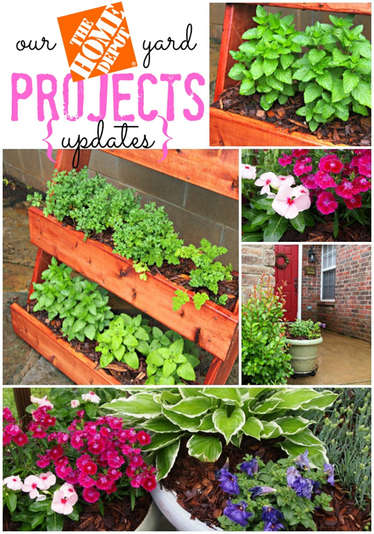 Our Yard Projects Updates With The Home Depot Digin Heartoutdoors Ad
