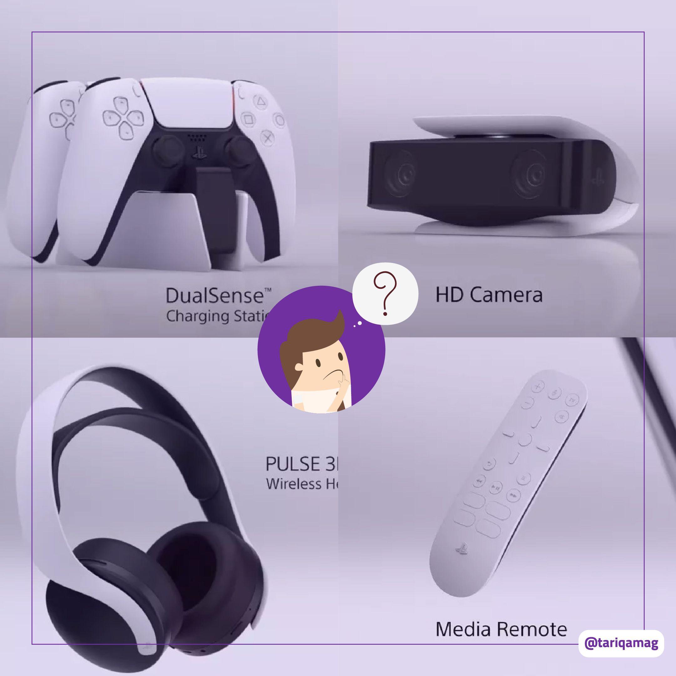 ملحقات Ps5 الجهاز سيحصل على كاميرا وقاعدة شحن وسماعات رأس Goggles Electronic Products Vr Goggle