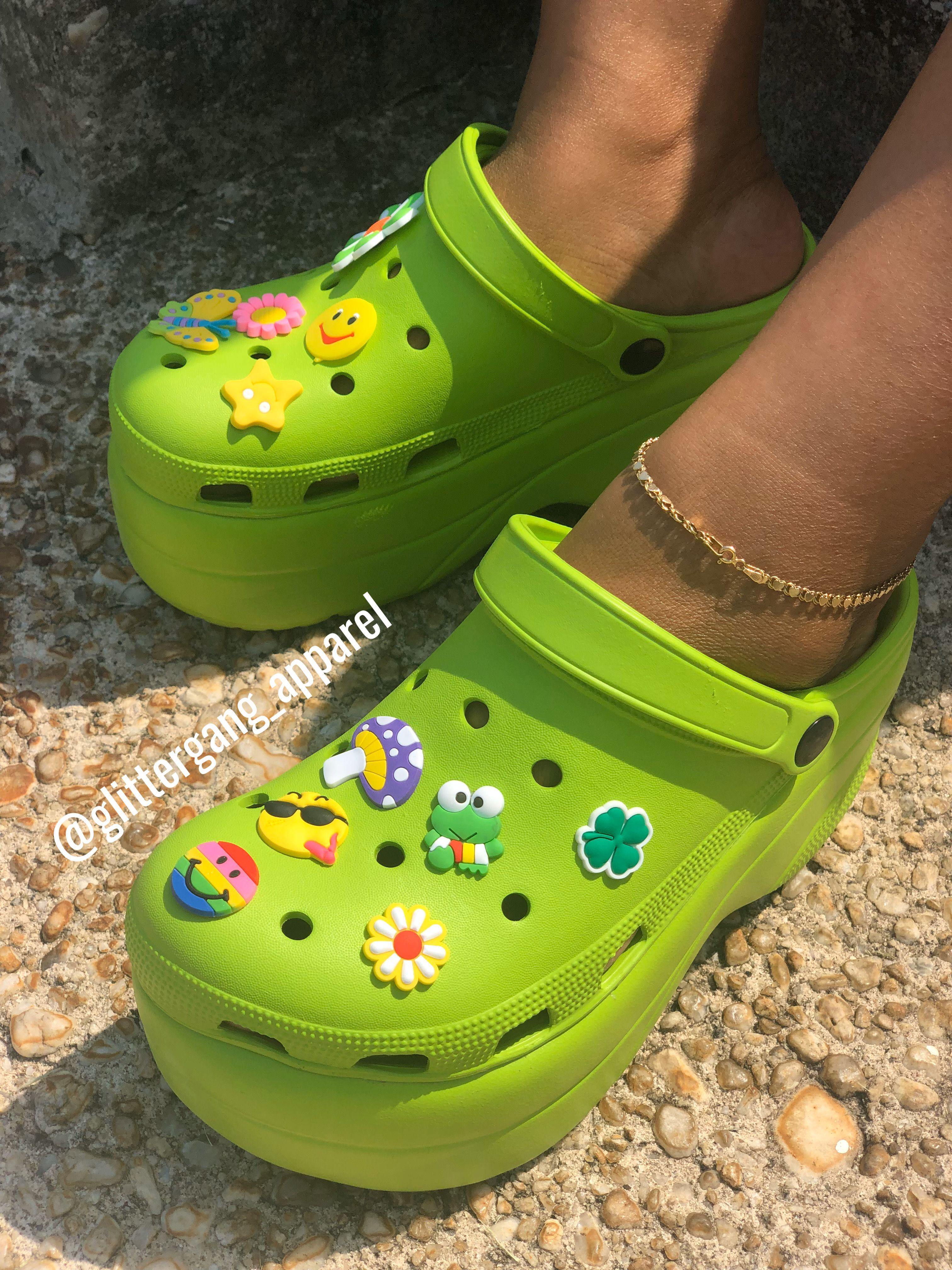 Platform crocs, Winter fashion shoes
