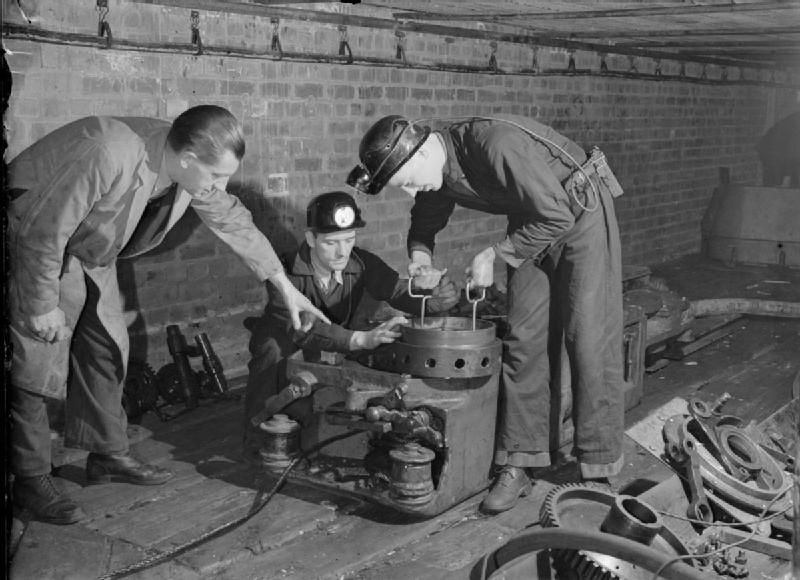 Mining Equipment, Sheffield, West Riding, Yorkshire, England