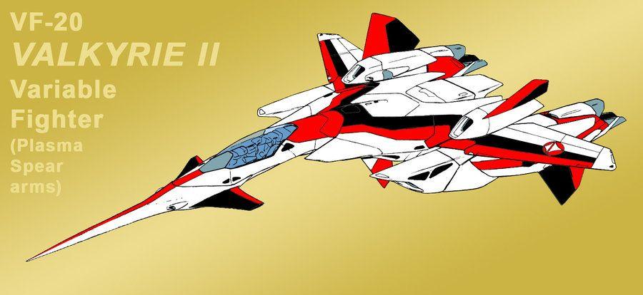 Vf 2ss Valkyrie Ii As Vf 20 As Jetfire Fighter Macross Anime Robotech Macross Valkyrie