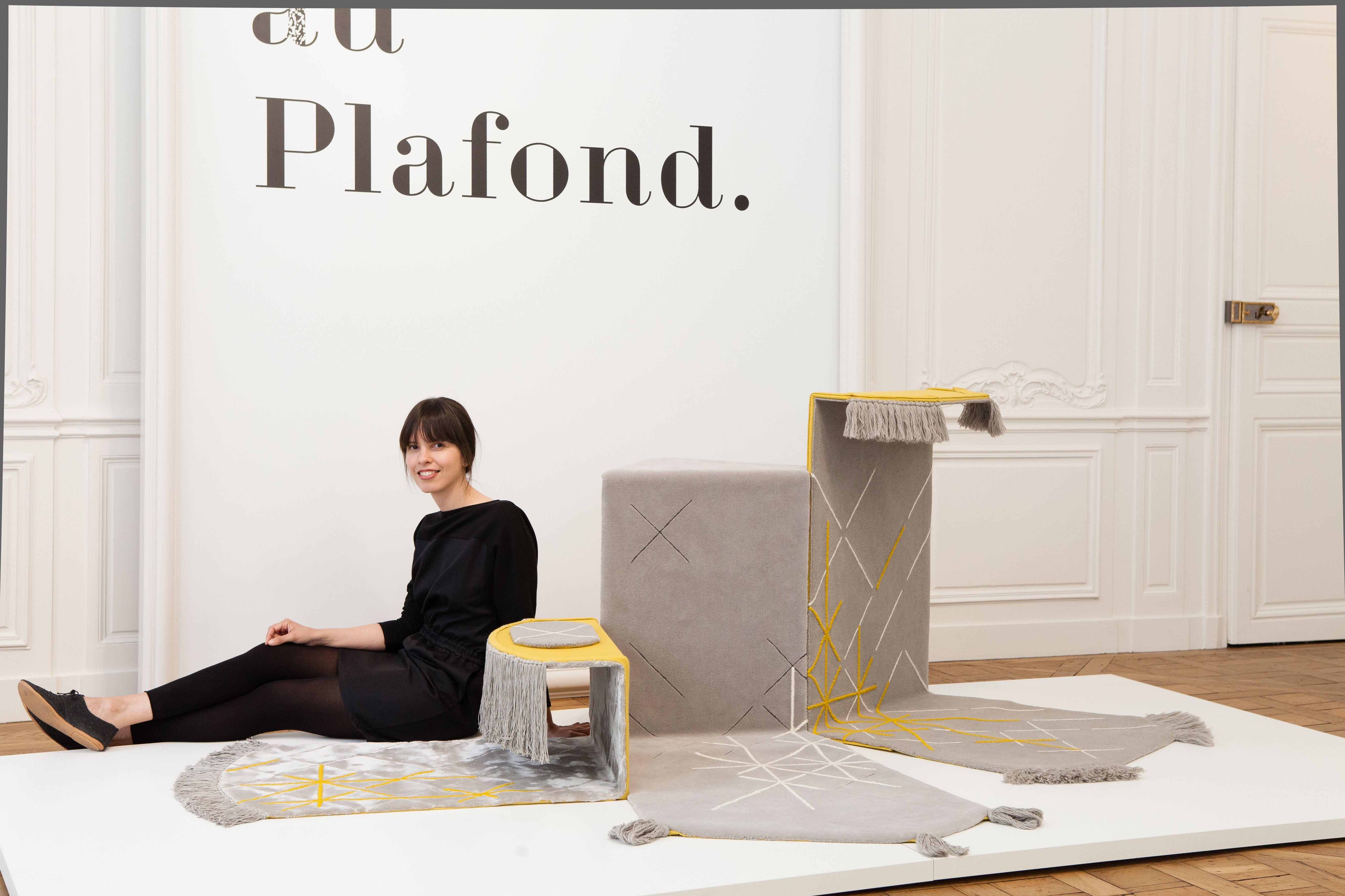 Fields By Valentina Carretta Flat Surfaces Fold Rise And Reform To Create Shelves Of Different Levels From Traditional Carpet Design Carpet Design Flooring