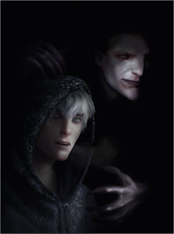 Realistic Version Of Jack Frost And Pitch Black Based Off Of The