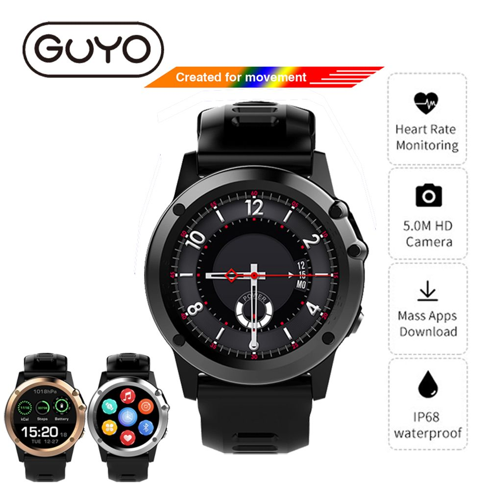 H1 GPS Smart Watch IOS Android Phone Call IP68 Waterproof