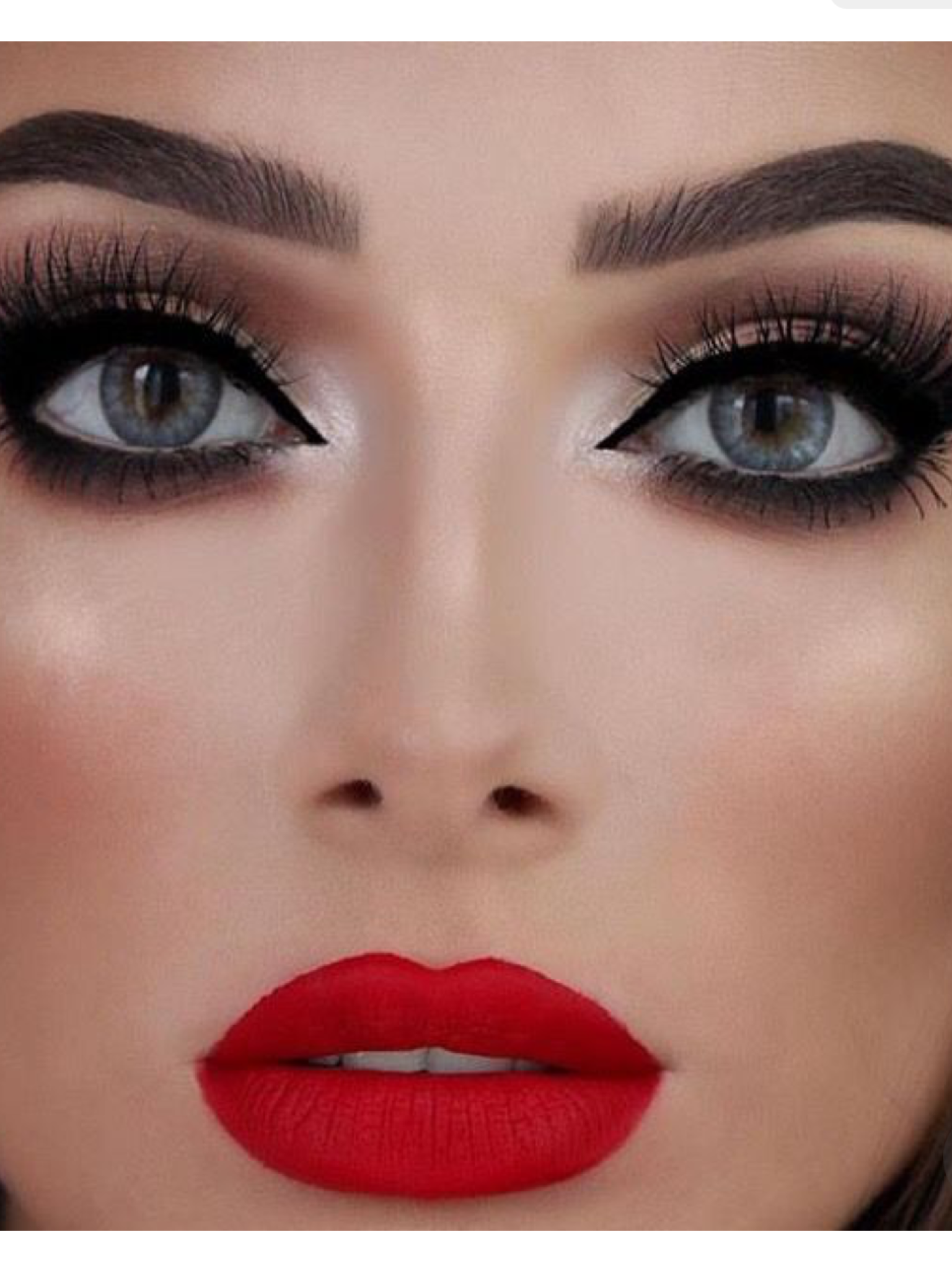 Nice Makeup For Red Dress – DACC