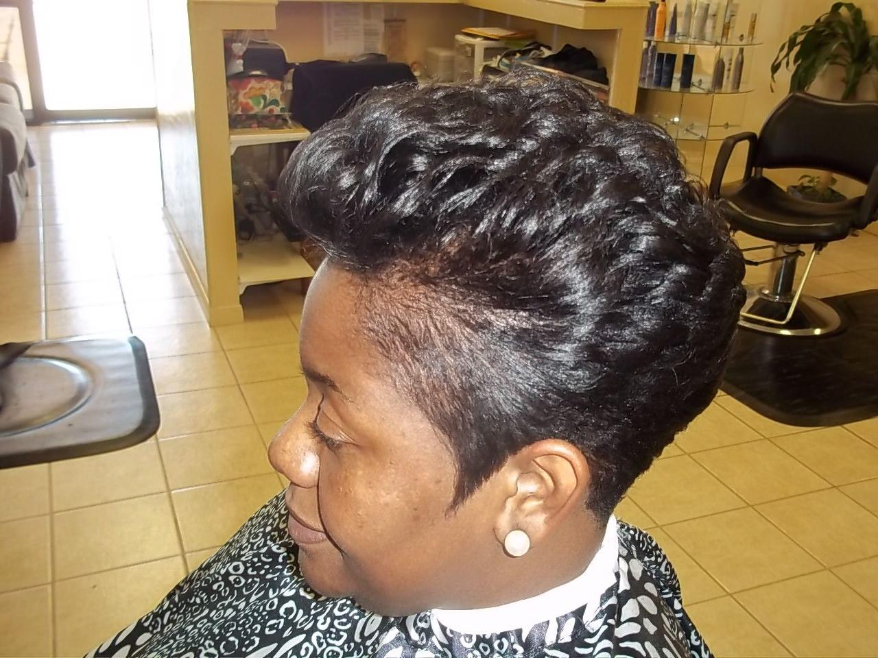 Healthy Hair Care Stylist #Bangincutznstylz #Houston #Katy #Texas #short #sassy #styles