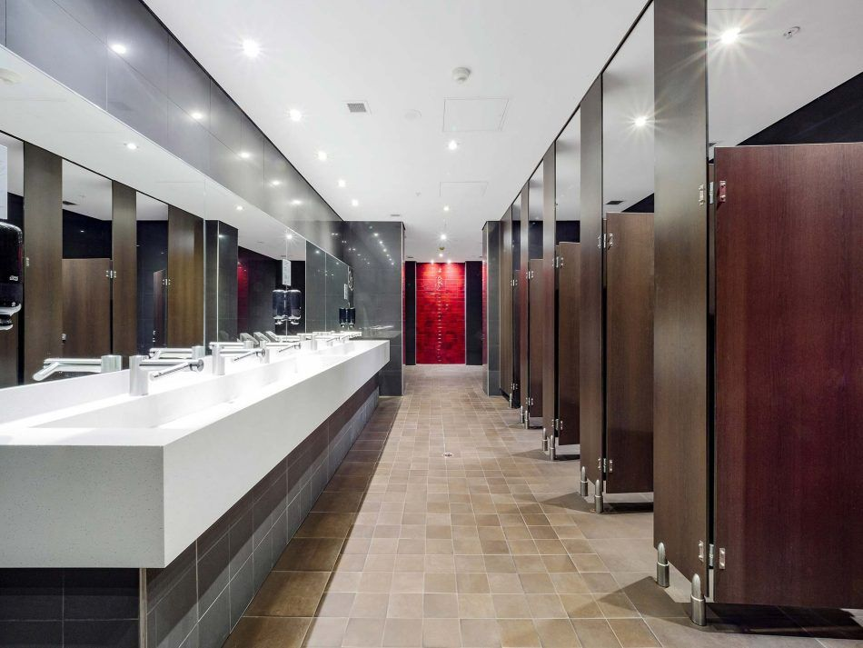 Bathroom Upgrade penrith panthers public bathroom upgrade | corian | corian for