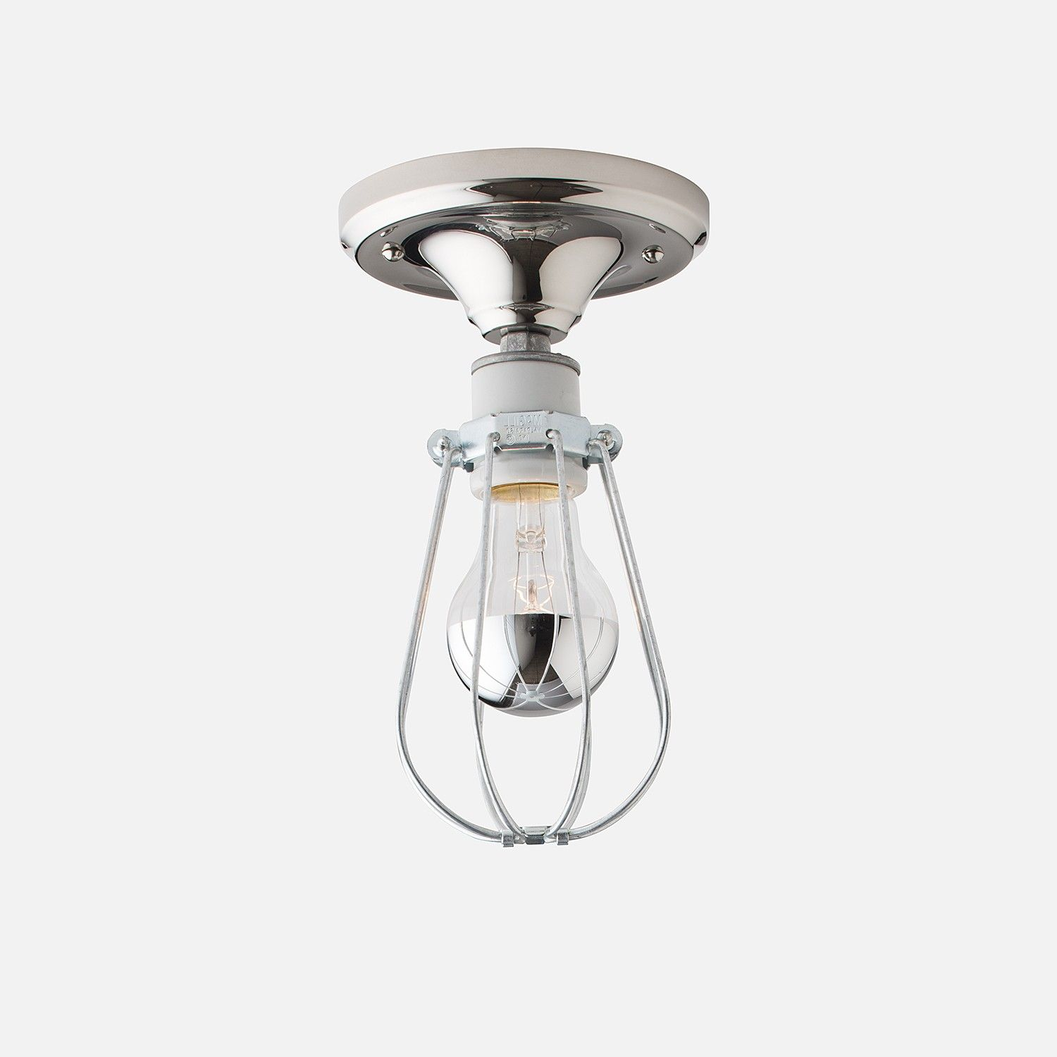 Franklin With Cage Surface Mount Light Fixture | Schoolhouse Electric U0026  Supply ...
