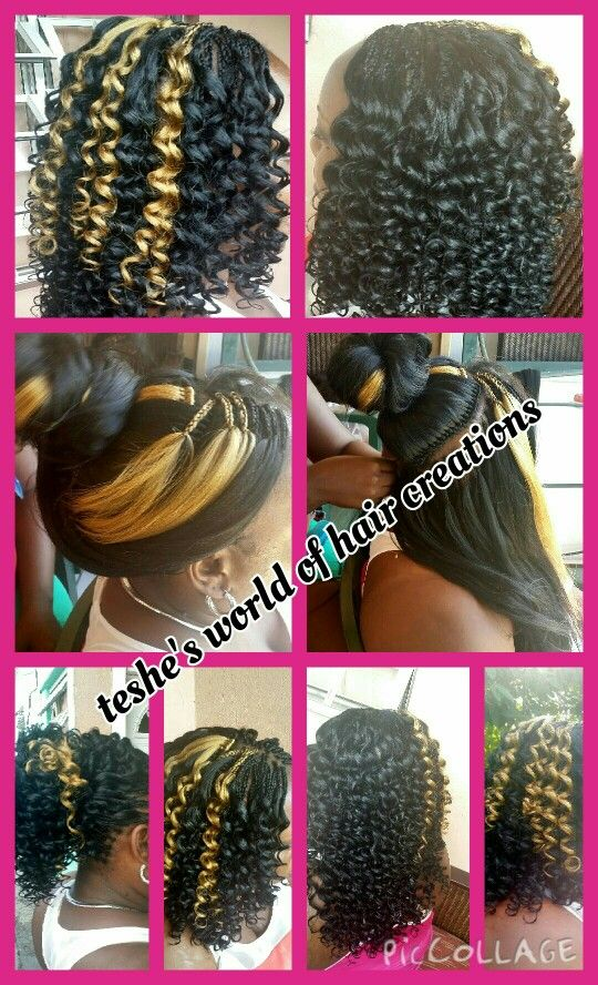 Crochet Braids Done With Xpression Braid Hair Hair Styles Crochet Hair Styles Beautiful Hair