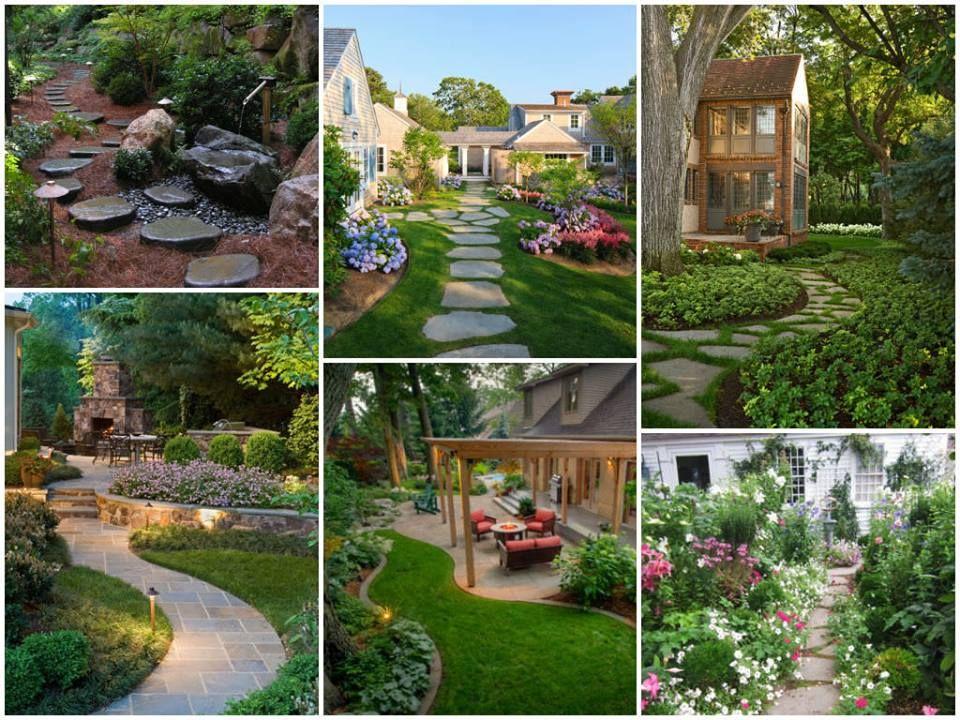 1001 Gardens Timeline Photos Garden Landscape Design Traditional Landscape Landscape Design