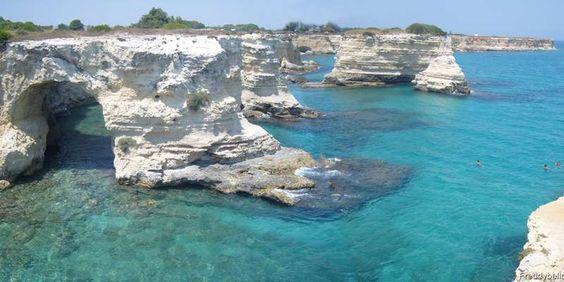 Les 5 Plus Belles Plages De Salento La Caraibe De L Italie Voyage Vin Italie Visiter Les Pouilles Pouilles Salento