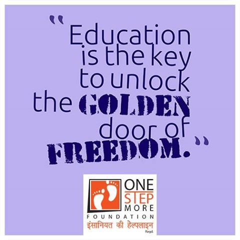 Education Is The Key To Unlock The Golden Door Of Freedom Education First Step Foundation