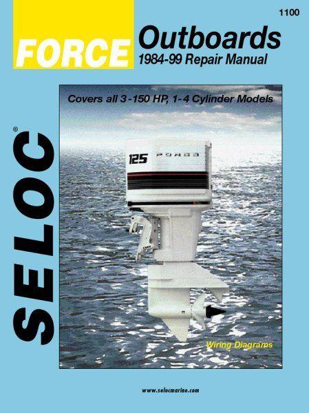 Force Outboard 1984 1999 Service Repair Manuals Repair Manuals Outboard Repair
