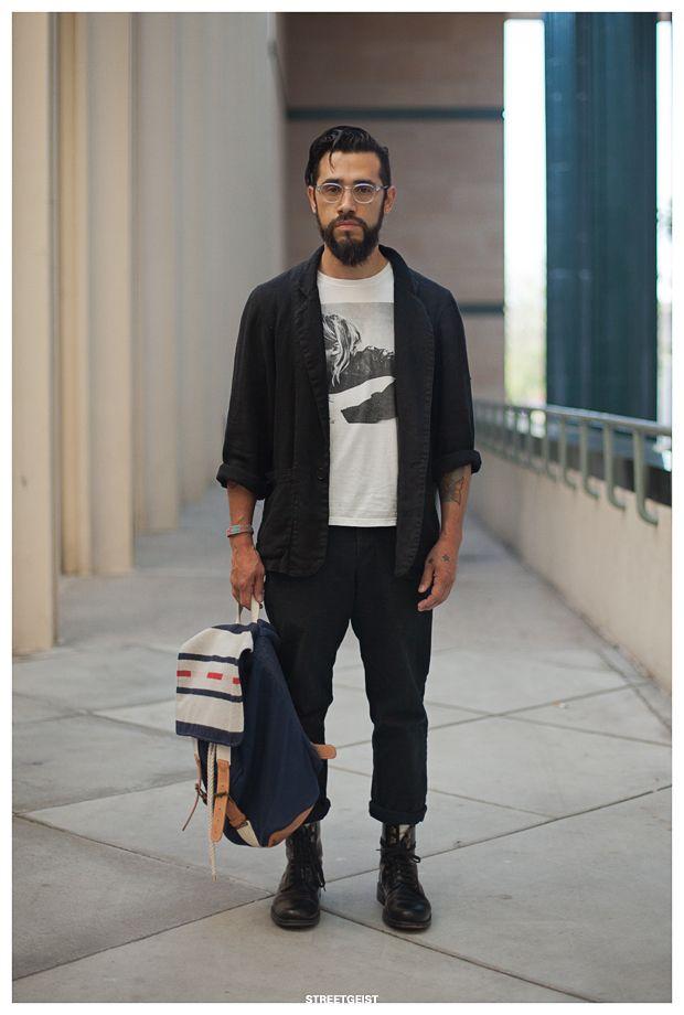 Pablo In Los Angeles Mens Street Style Los Angeles Street Style Men Street
