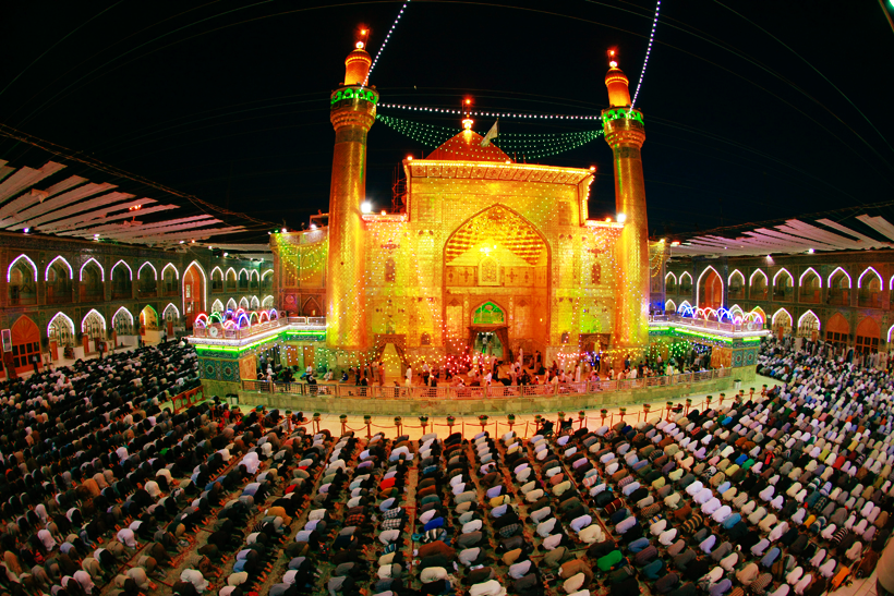 Maula Ali Shrine Wallpaper: Ramadhan At The Shrine Of Imam Ali (AS) Najaf, Iraq.