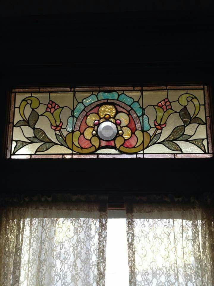 Stained Glass From The Miller House In Rochester Ny Circa